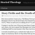 Storied Theology